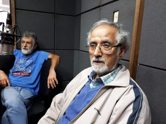 Los invitados a la Mesa de la Rivera fueron Wilder Lacuesta y Raúl Olivera.